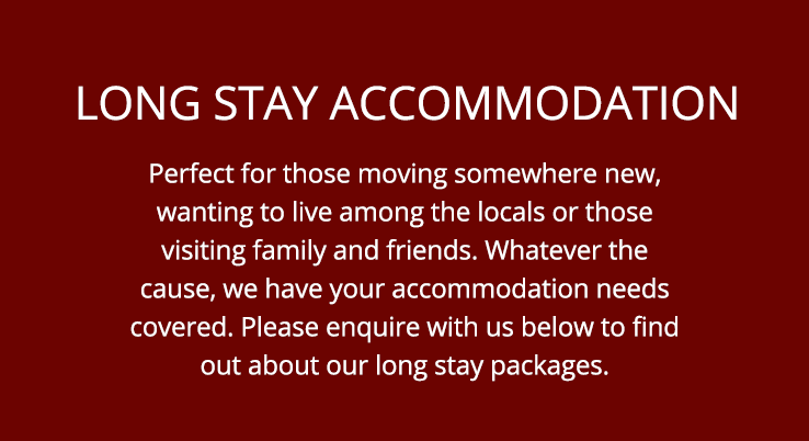 Groups, Extended & Long Stay Bookings
